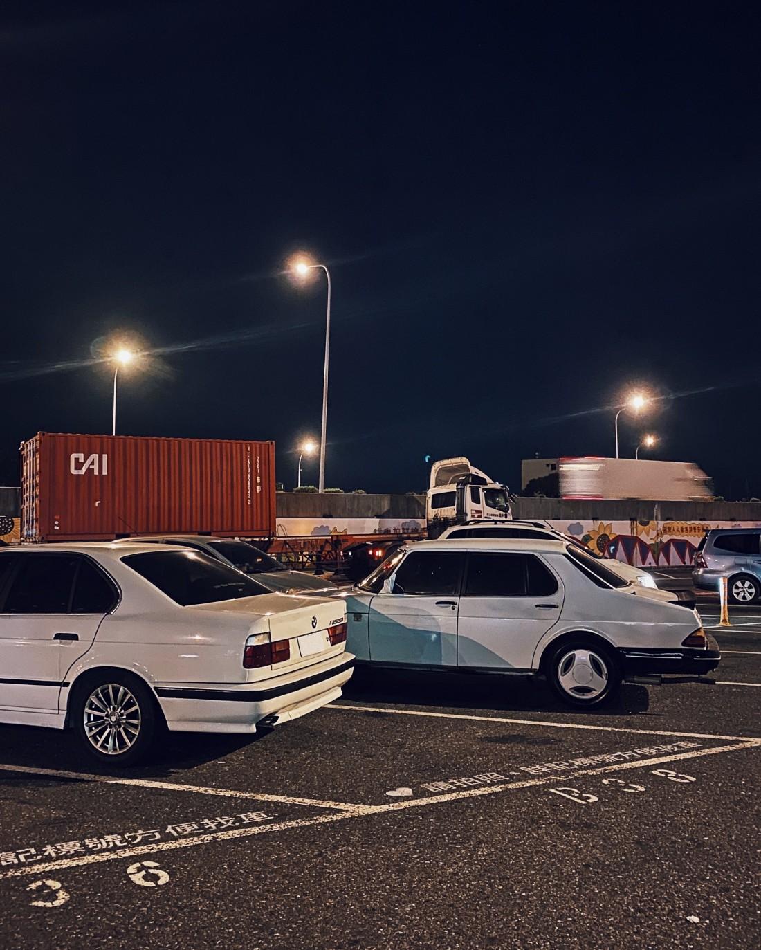with Saab 900 S