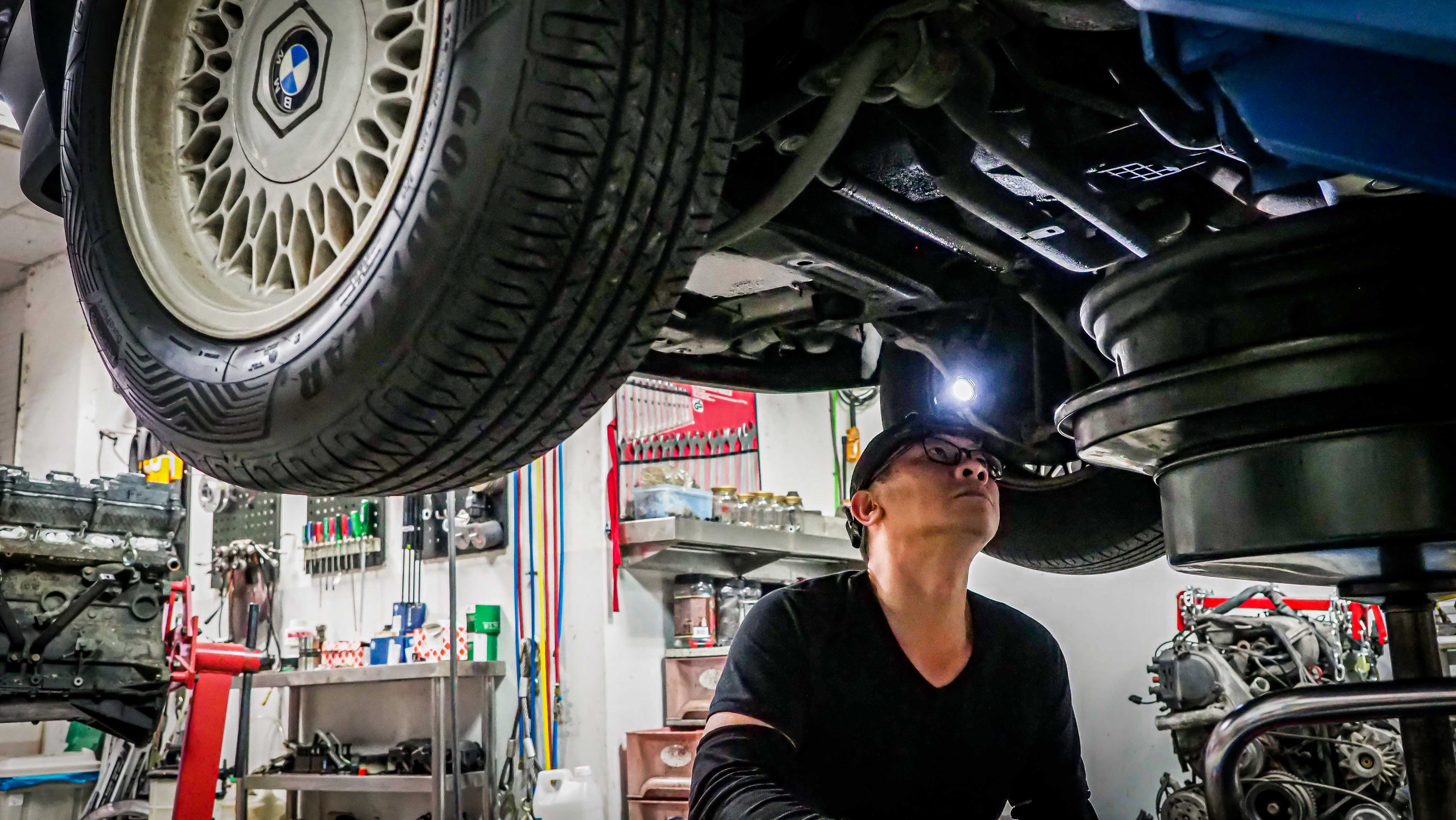 2020 BMW E34 Service